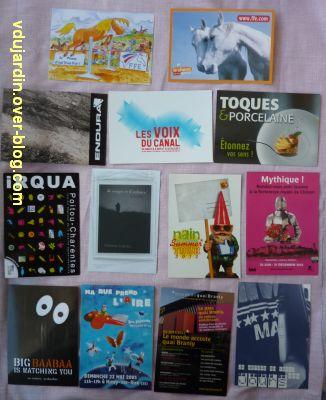 Reçu de Dalinele en septembre 2012, 5, cartes à publicité
