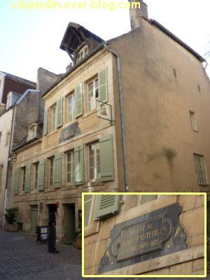 Louis Pasteur à Dole, 01, maison natale