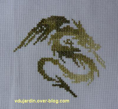 Un dragon vert pour Cathdragon