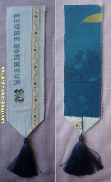 Echange de marque-page 2012, 4, le marque-page recto et verso