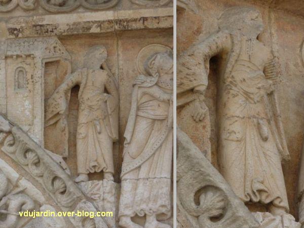 Poitiers, la Visitation de Notre-Dame-la Grande, 1, la suivante d'Elisabeth