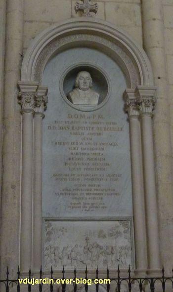 Monument de Jean-Baptiste de Bouillé dans la cathédrale de Poitiers, 1, vue générale