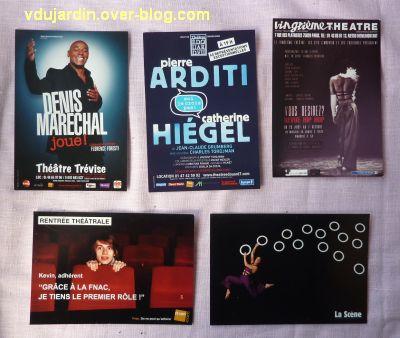 Capucine en août-septembre 2012, 3, cartes à publicité