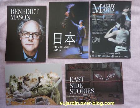 Capucine en août-septembre 2012, 5, cartes à publicité
