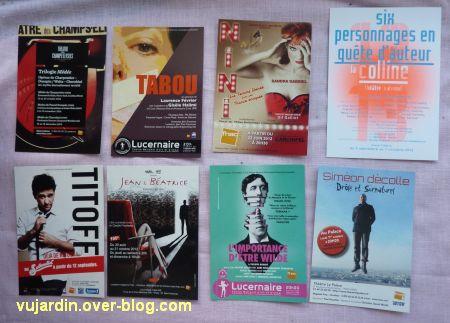 Capucine en août-septembre 2012, 6, cartes à publicité