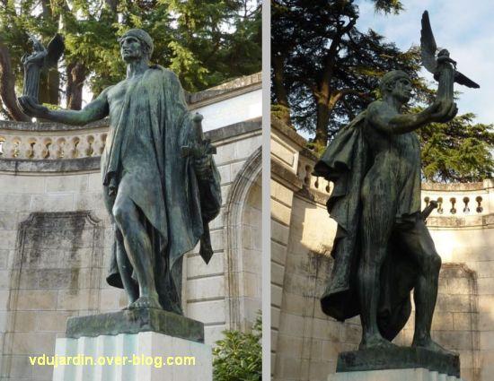 Châtellerault, monument à la révolution et aux morts de 1914-1918, 13, soldat