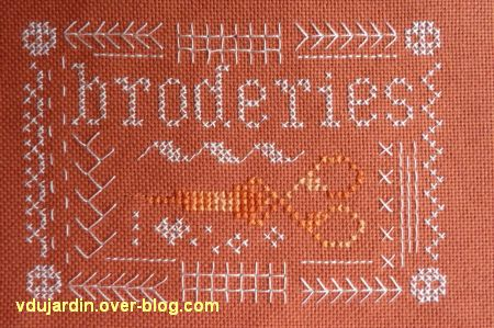 Concours de Moncoutant 2012, 4, broderies et ciseaux