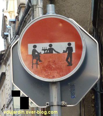 Poitiers, un stop relooké, septembre 2012