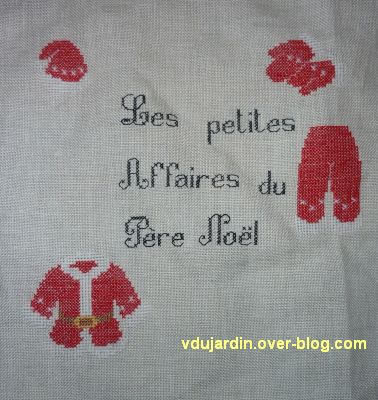SAL petites affaires du Père Noël 2012, étape 5, tout