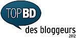 Logo 2012 du Top BD des blogueurs, nouvelle version
