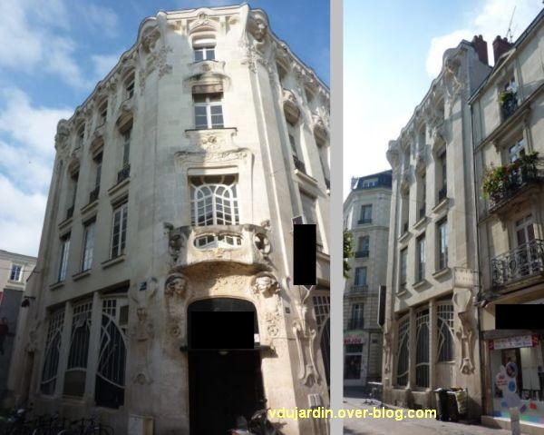 L'Alcazar à Angers, 1, les deux façades