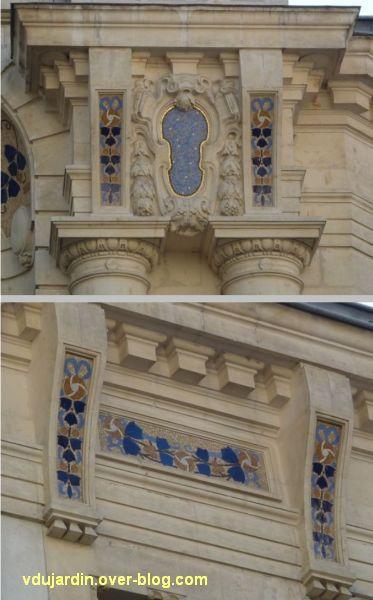 Le Palace à Angers, 6, exemple de mosaïques
