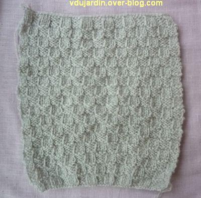 Un dernier carré au tricot pour Brigitbrod