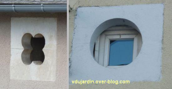 Des fenêtres à Poitiers, 2, deux oculus