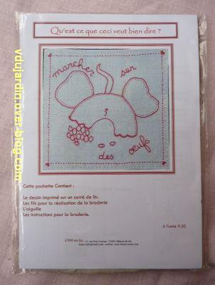 Grille reçue pour Moncoutant 2012