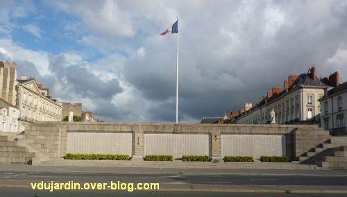 Le monument aux morts de 1914-1918 à Nantes, vue actuelle (2012)