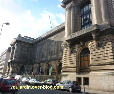 Nantes, la façade du musée des Beaux Arts (octobre 2012)