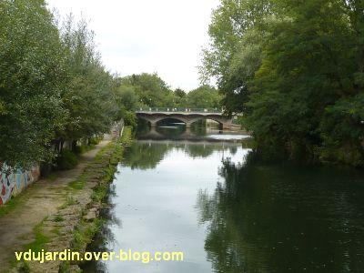 Niort, les ponts Main depuis le donjon