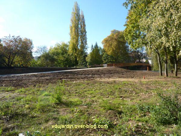 Poitiers, novembre 2012, 01, nouvelle passerelle