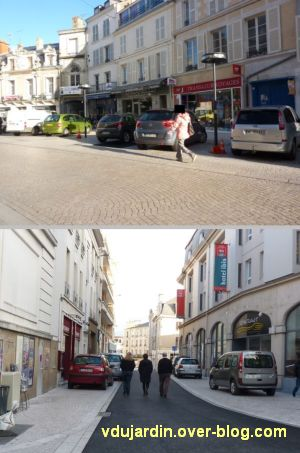 Poitiers, novembre 2012, 07, voitures sur les trottoirs en ville
