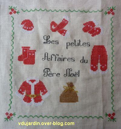 SAL petites affaires du Père Noël 2012, étape 9, l'ensemble