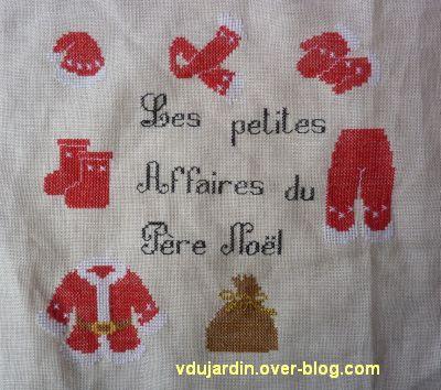 SAL petites affaires du Père Noël 2012, étape 8, l'ensemble