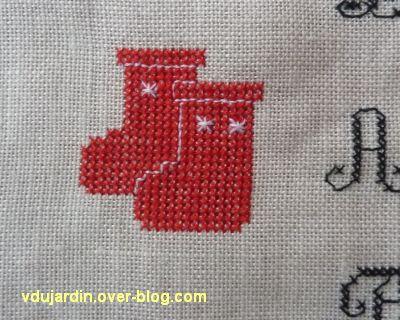 SAL petites affaires du Père Noël 2012, étape7, les bottes
