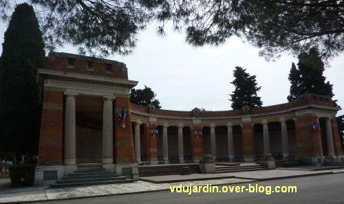 Toulouse, monument aux morts de 1914-1918 au cimetière de Salonique