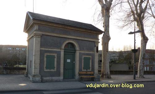 Un bâtiment de l'octroi de Cahors
