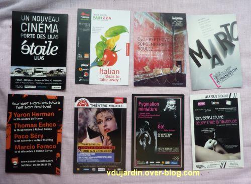 Capucine en novembre 2012, 4, cartes à publicité