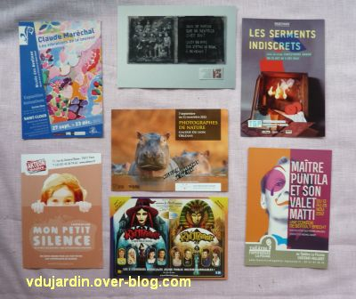 Capucine en novembre 2012, 5, cartes à publicité