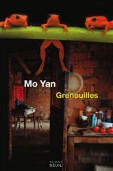 Couverture de Grenouilles de Mo Yan