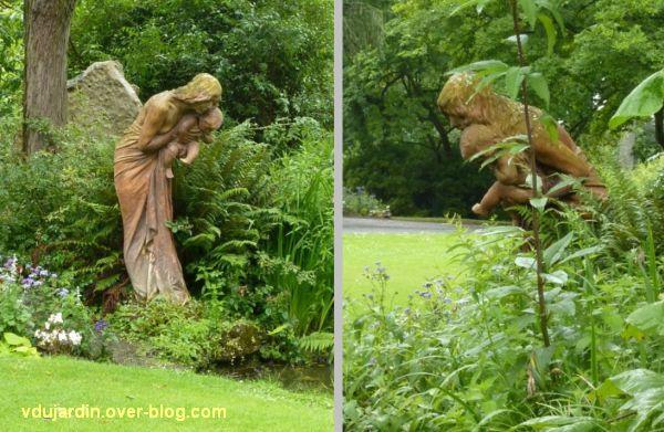Nantes, le premier miroir de Alaphilippe au jardin des plantes, 1, aujourd'hui
