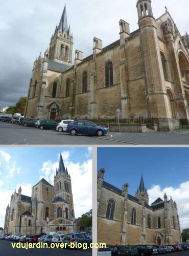 Niort, église Saint-Hilaire, 04, vues extérieurs