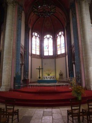 Niort, église Saint-Hilaire, 08, le choeur