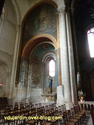 Niort, église Saint-Hilaire, 10, la chapelle de la Vierge