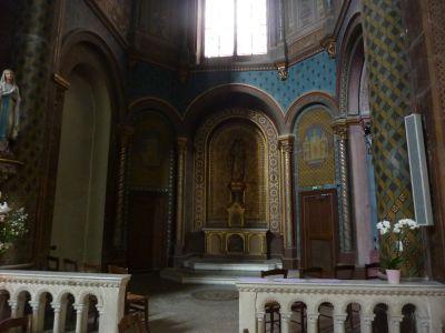 Niort, église Saint-Hilaire, 13, la chapelle au bout du colatéral nord
