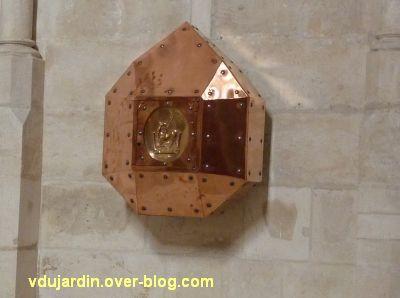Niort, église Saint-Hilaire, 15, le tabernacle en forme de diamant