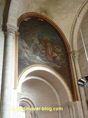 Niort, église Saint-Hilaire, 16, la peinture de Germain au sud