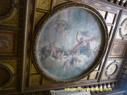 Poitiers, salle des mariages de l'hôtel de ville, 1, le plafond