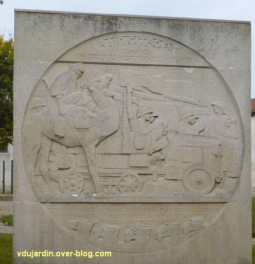 Saint-Jean-d'Angély, la croisière noire de Audouin-Dubreuil, 3, le relief