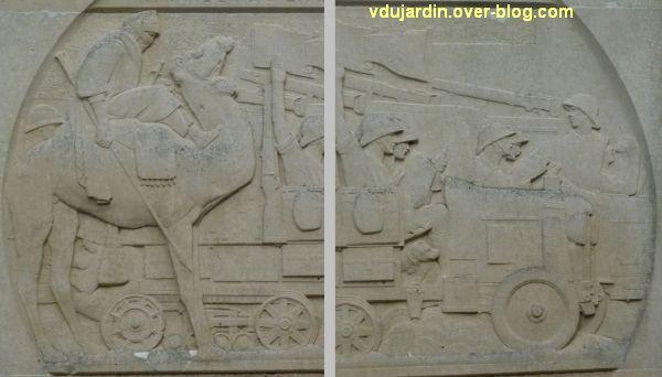 Saint-Jean-d'Angély, la croisière noire de Audouin-Dubreuil, 5, le relief principal