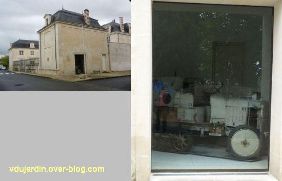 Saint-Jean-d'Angély, la croisière noire de Audouin-Dubreuil, 6, le musée et l'autochenille