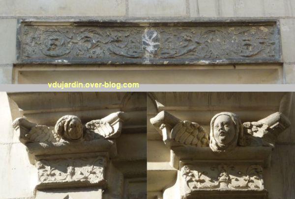 Tours, rue Paul Louis Courier, 05, hôtel particulier des Giusti, du début de 16e siècle