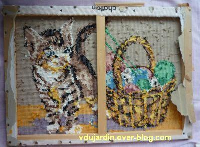 Un sac chat pour Dalienor, 1, enlèvement du cadre