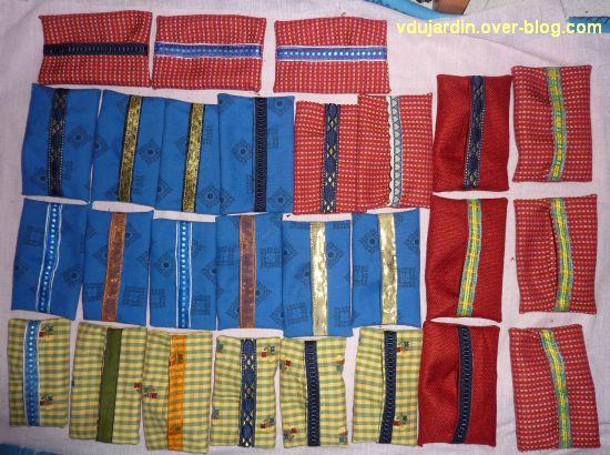 Série d'étuis à mouchoirs, 1, l'ensemble