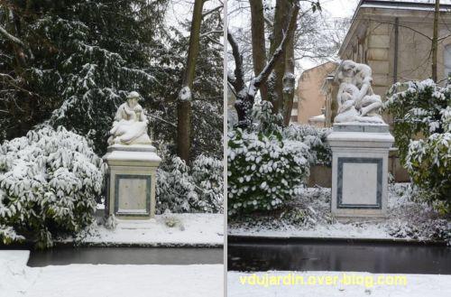 Poitiers sous la neige, 20 janvier 2013, 4, le bonheur et la douleur maternelles à Blossac