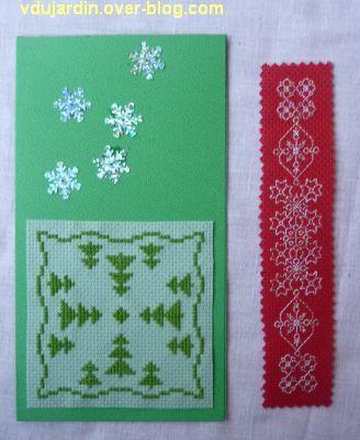 Noël 2012 par Zazimuth, 3, la carte et le marque-page