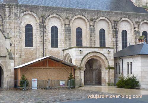 Poitiers, 1er janvier 2013, crèche barricadée
