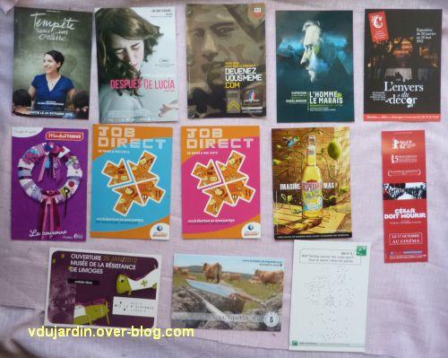 Noël 2012 par Flo, 2, cartes à publicité